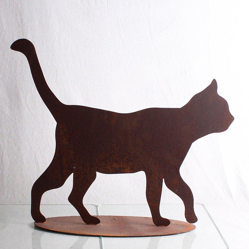 Kat gående 45x51 cm
