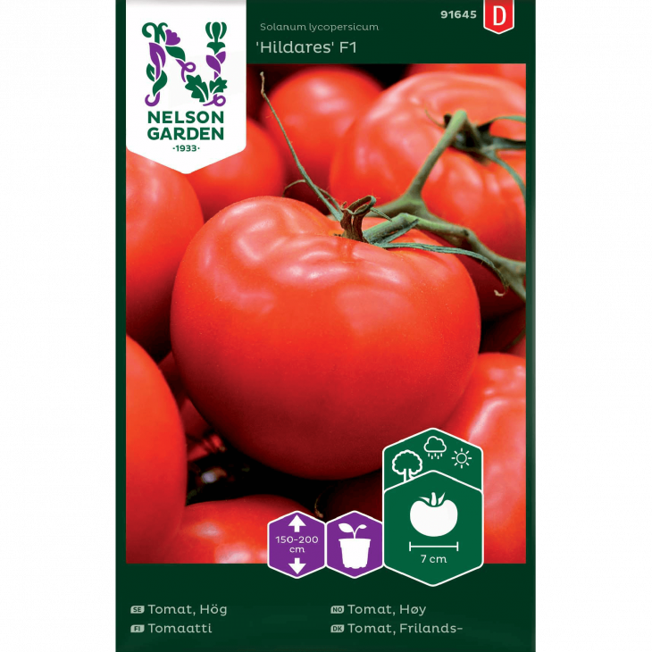 Tomat, Frilands-, Hildares