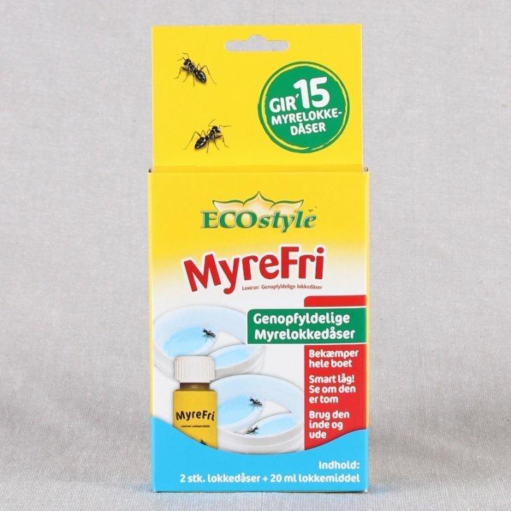 Myrelokkedåse, genopfyldelig fra Ecostyle, 2 stk.
