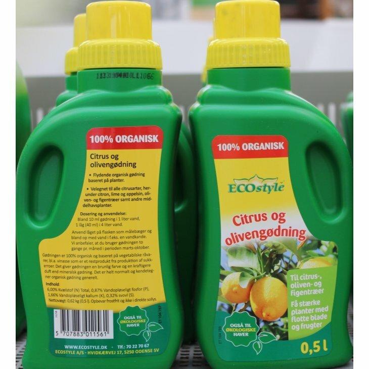 Ecostyle Citrus- og olivengødning 500 ml
