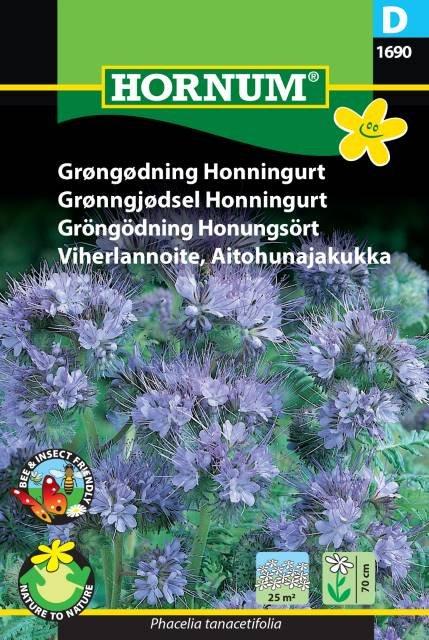 Grøngødning samt bi- og insektplante Honningurt