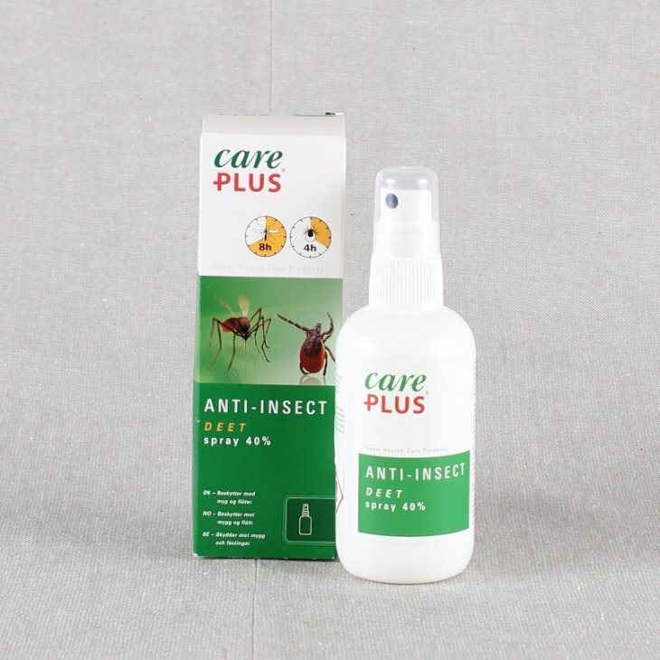 Myggespay med DEET, Care Plus Anti-insect 100 ml