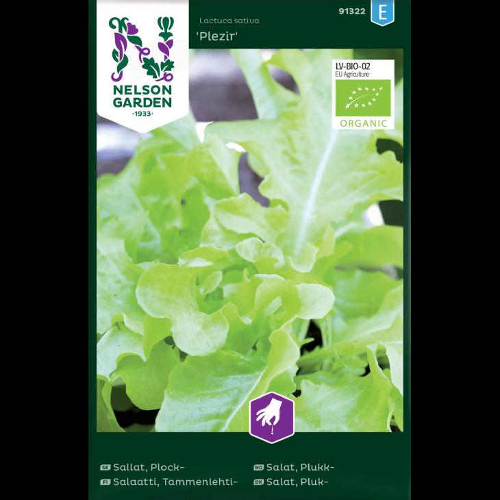 Salat, Pluk-, Plezir, Organic