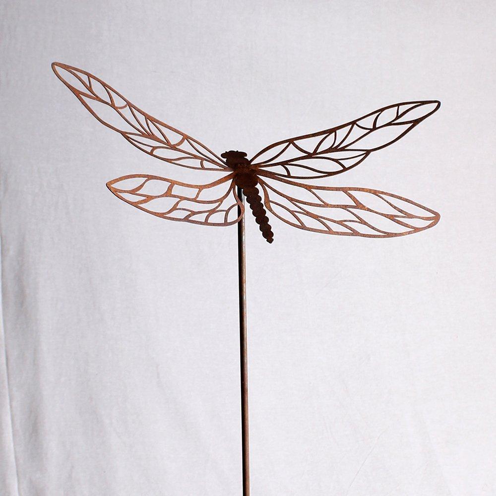 Guldsmed med vinger i filigran, på spyd
