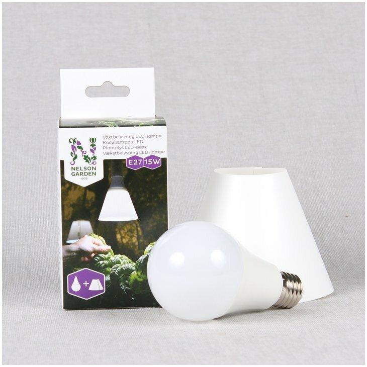 Vækstlys LED-Lampe 15W
