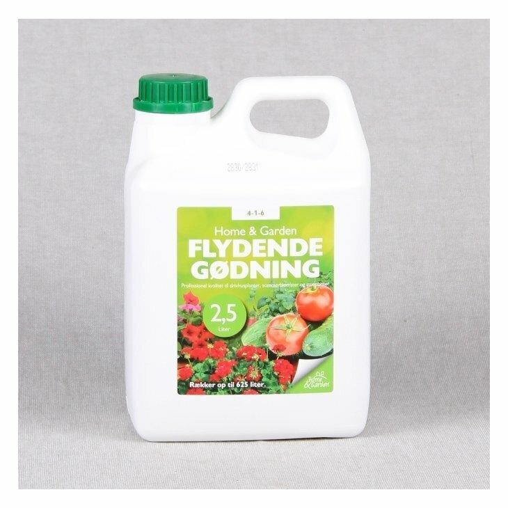Home & Garden flydende gødning 2,5 L