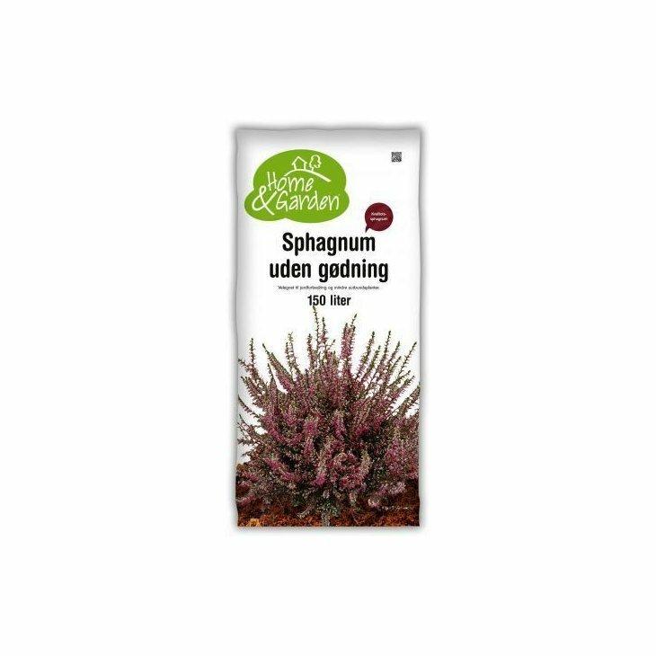 Spagnum uden gødning 150 L