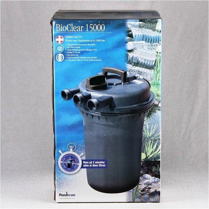 Trykfilter BioClear 15000 - 36W UV-C