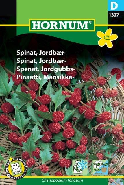 Spinat, Jordbær