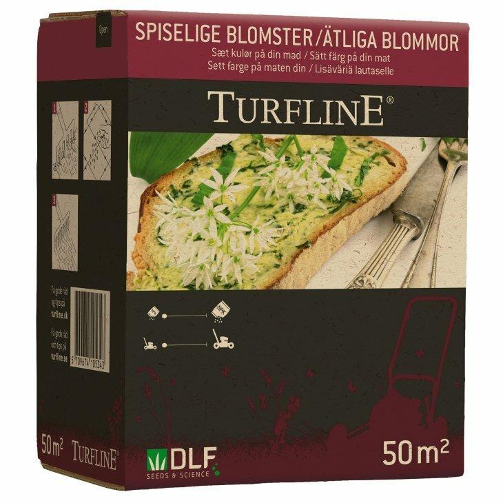 Turfline Spiselige blomsterblanding til 50 m2