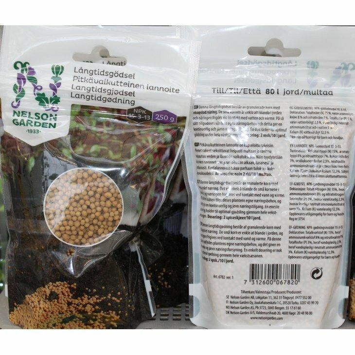 Nelson Garden Longtime gødning 250 gr