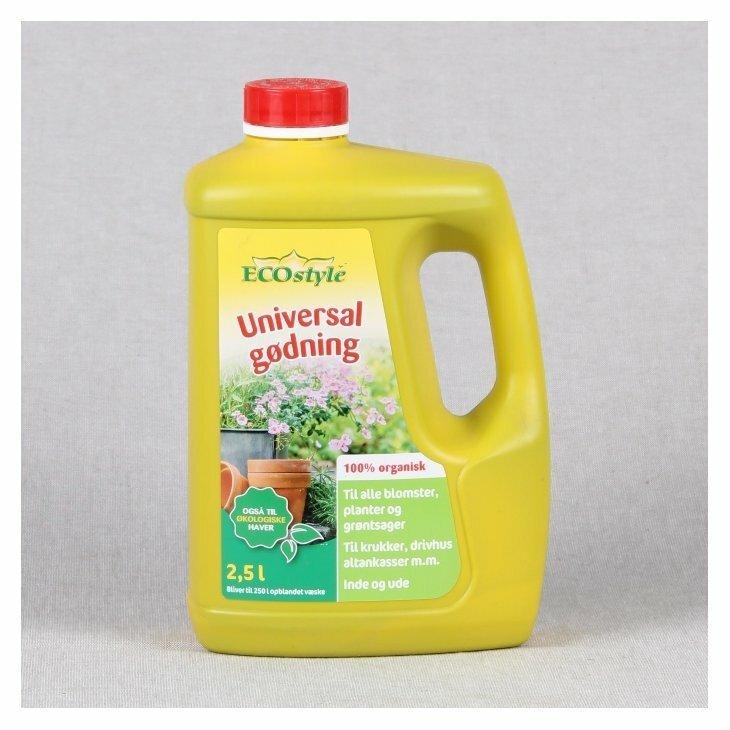 Ecostyle Universalgødning 2,5 L