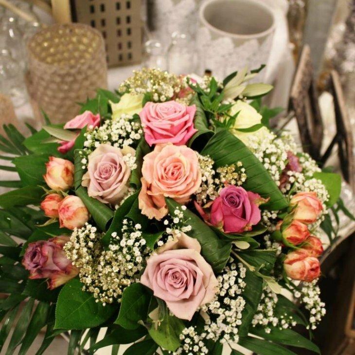 Buket, Rokoko i romantisk rosa