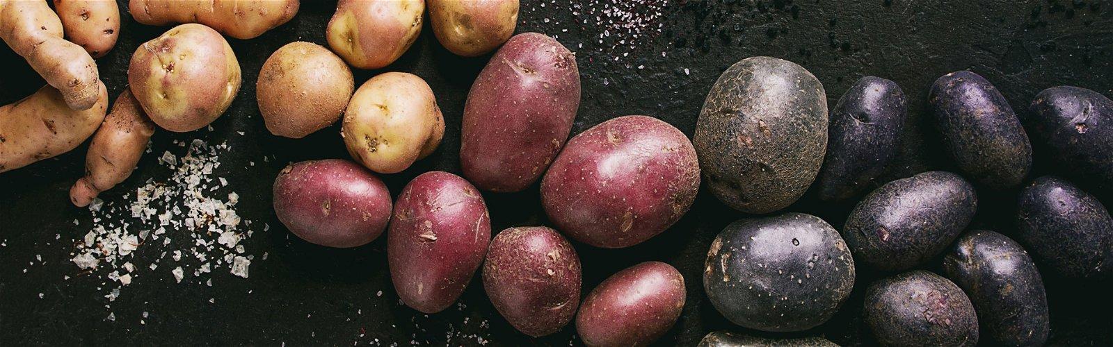 Forskellige kartoffelsorter