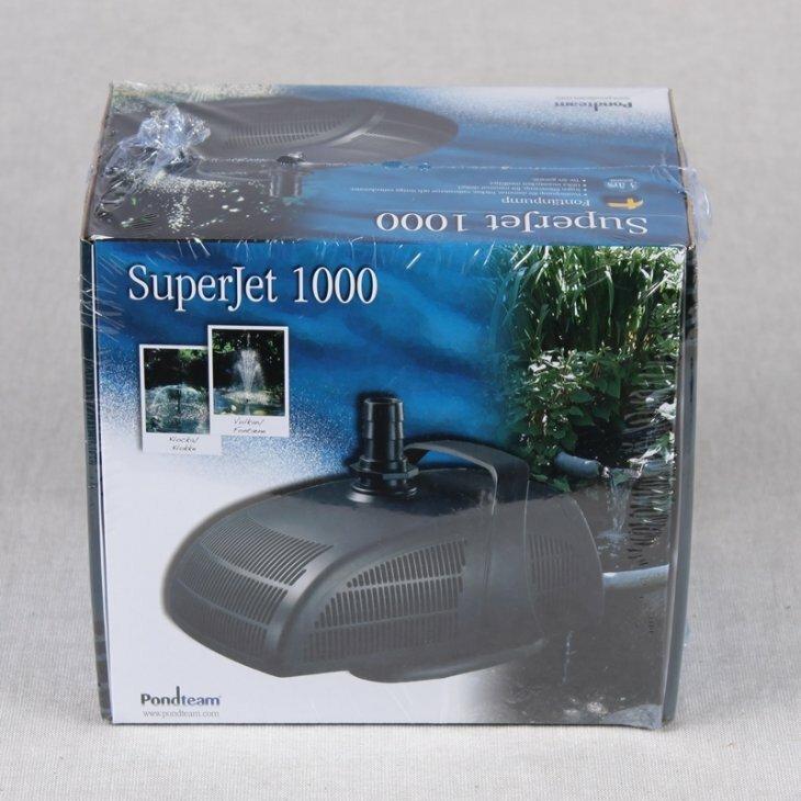 Springvandspumpe Superjet 1000 - 14 W