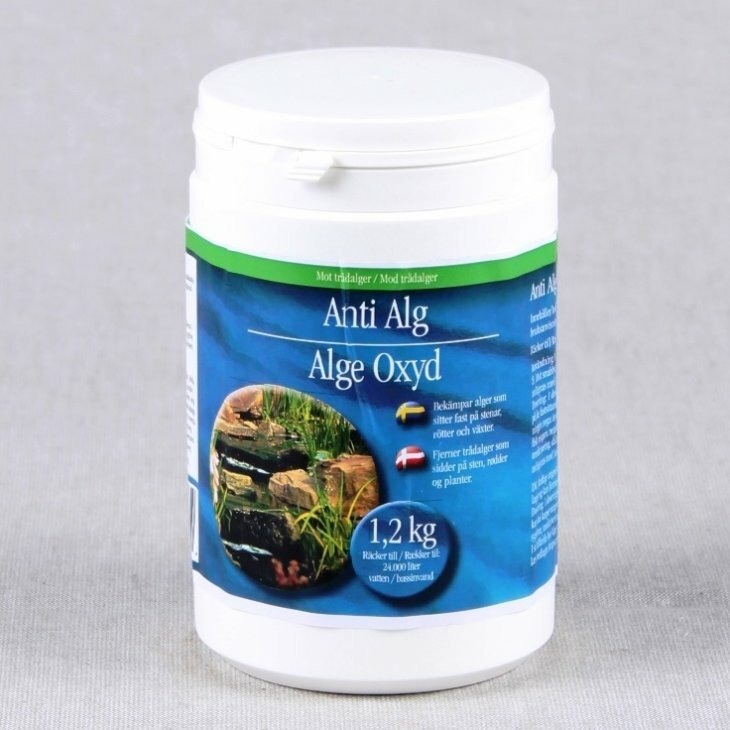 Alge Oxyd 1,2 kg til 24000 liter