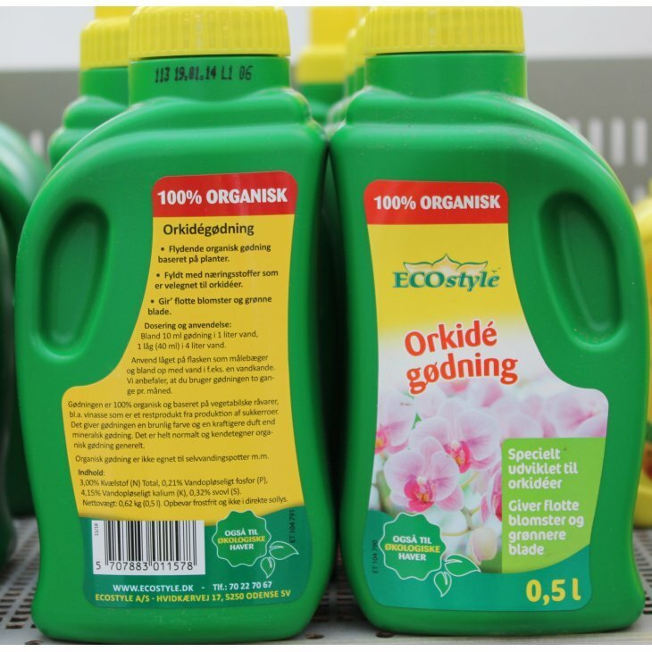 Ecostyle Orkidégødning 500 ml