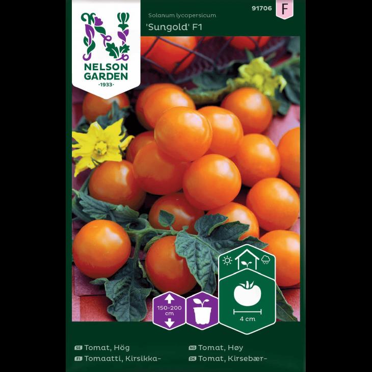 Tomat, Kirsebær-, Sungold