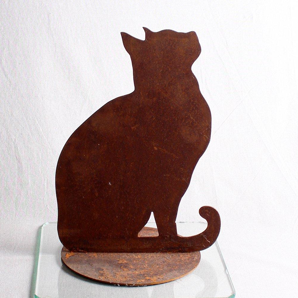 Kat siddende 36 cm