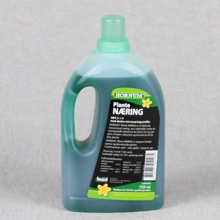 Hornum plantenæring 750 ml