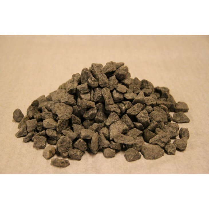 Granitskærver, sort 11-16 mm. 1 ton.
