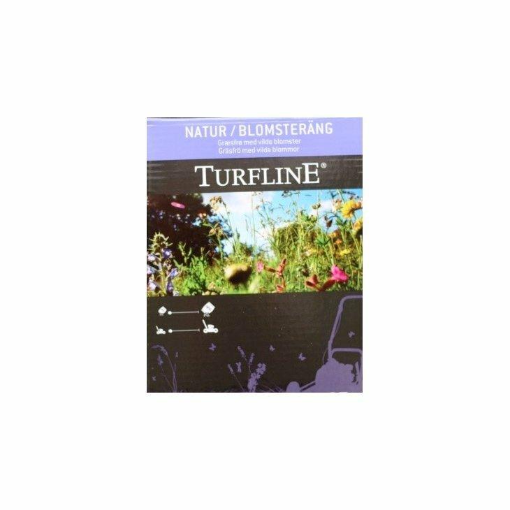 Turfline Natur Blomstereng og Plænegræs til 100 m2