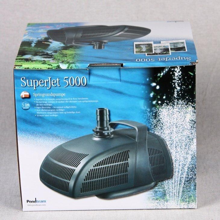 Springvandspumpe Superjet 5000 - 98 W