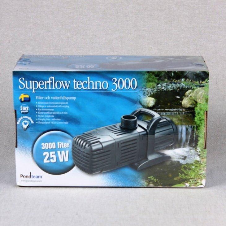 Superflow Techno 3000 - 25 W