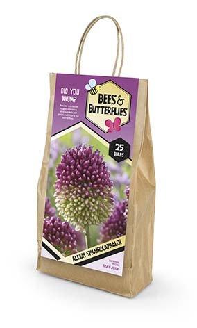 Bees & Butterflies Allium Sphaerocaphalon - Prydløg 25 løg