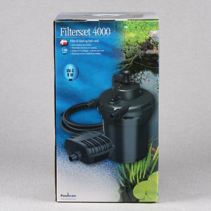 Filtersæt 4000/pumpe 2000 L