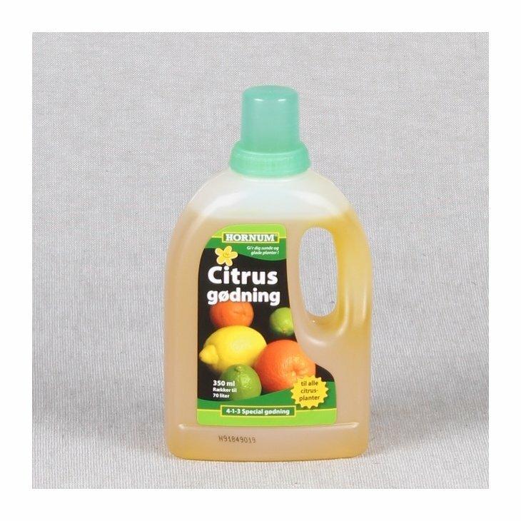 Hornum citrusgødning, også til oliven 350 ml