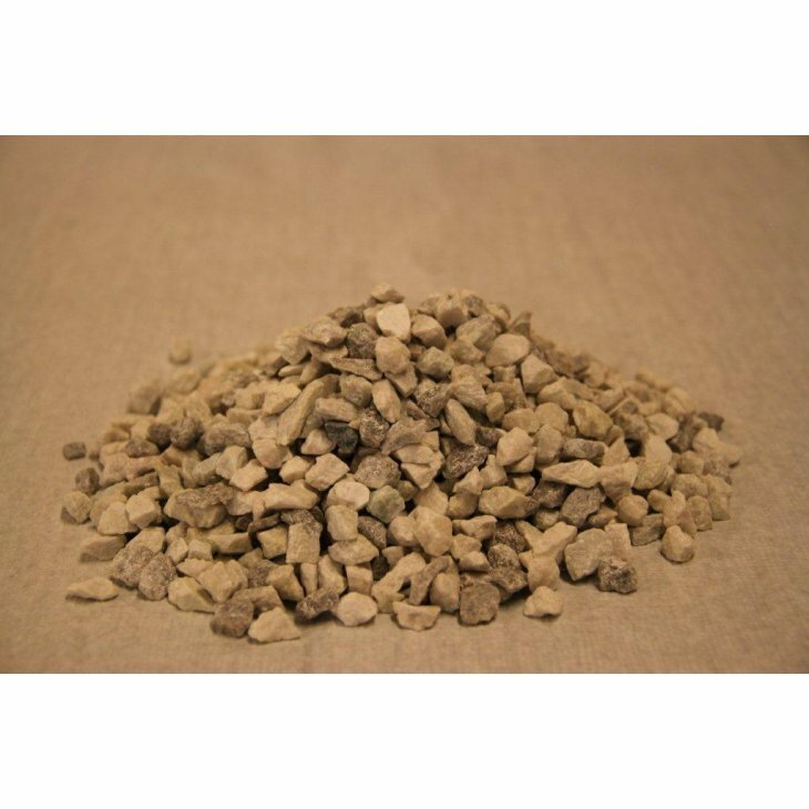 Granitskærver, hvid 8-11 mm. 1 ton.