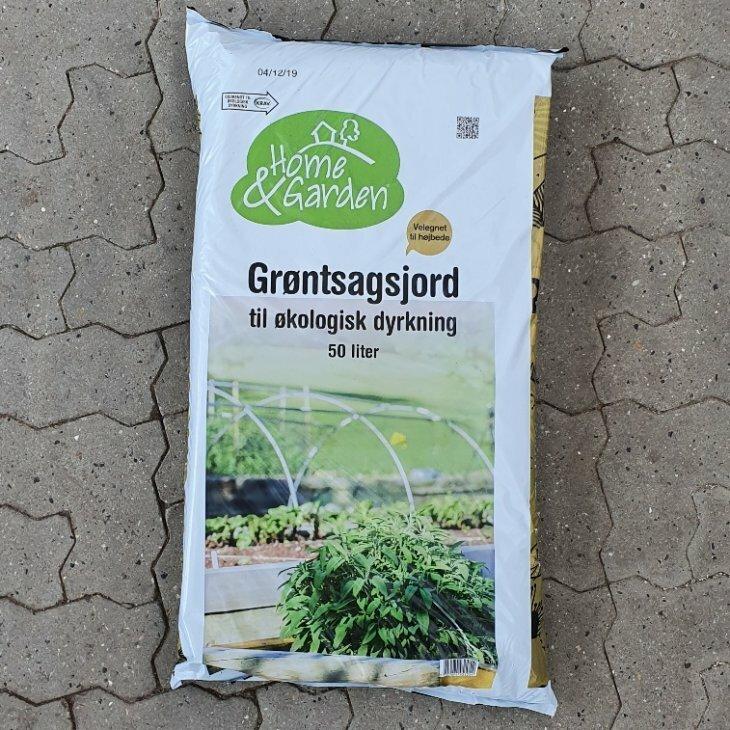 Grøntsagsjord 50 L. Øko.