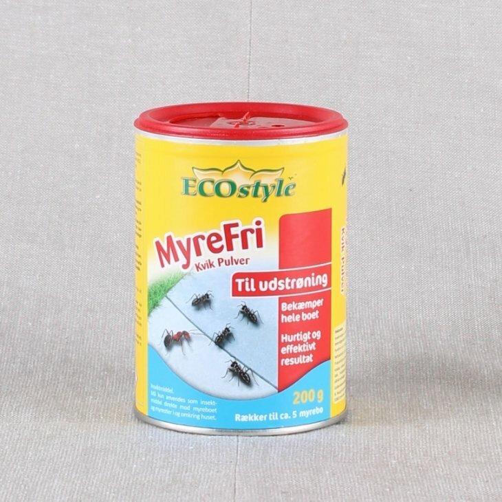 Myrefri Kvik pulver fra Ecostyle 200 gr.