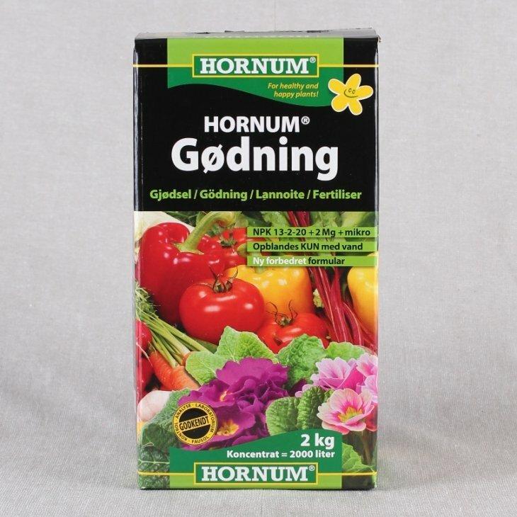 Hornum Gødning til opblanding 2 kg