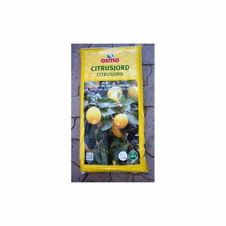 Middelhavs- og citrusjord fra Osmo 20 L