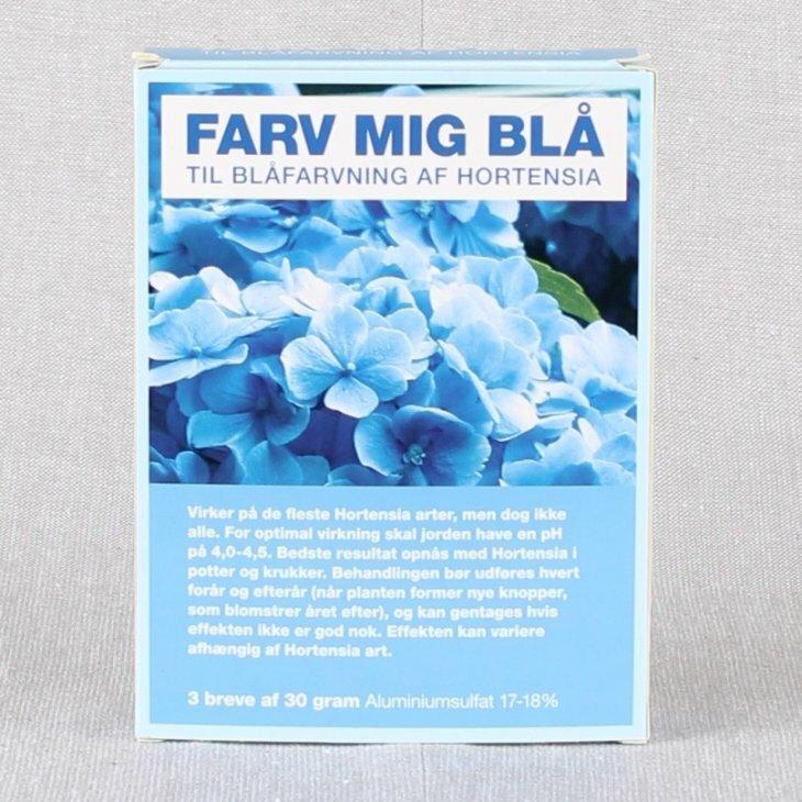 Farv mig Blå - blåkur til hortensia