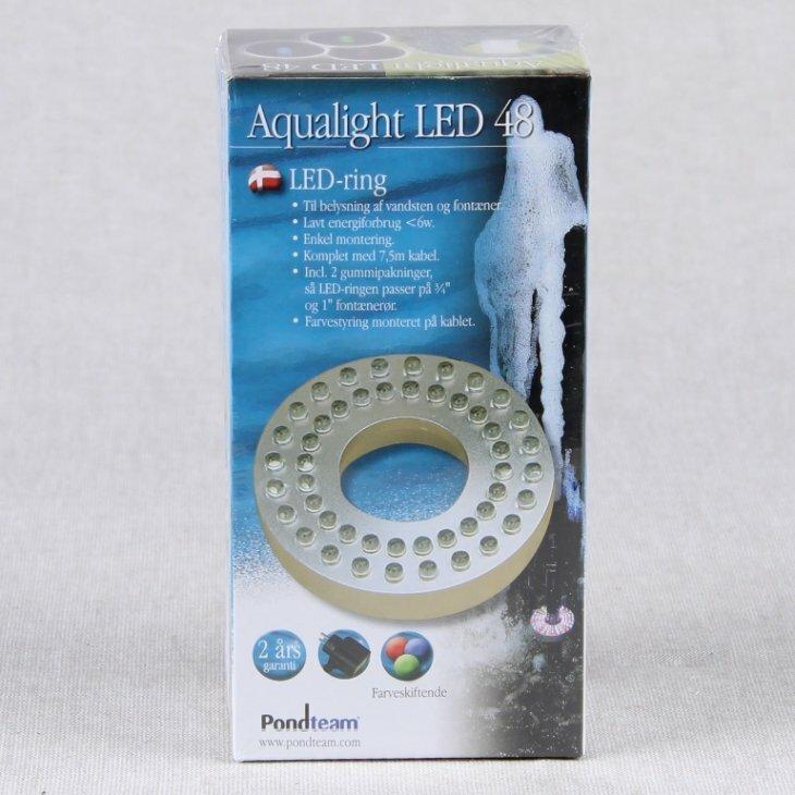 LED ring 48 dioder RGB - Ø80/34 mm