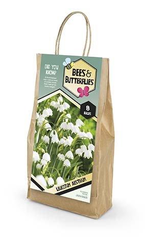 Bees & Butterflies Leucojum Aestivum -  Hvidblomme 8 løg