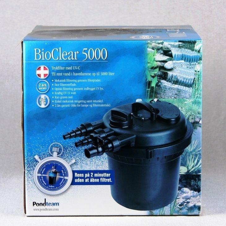 Trykfilter BioClear 5000 - 11W UV-C